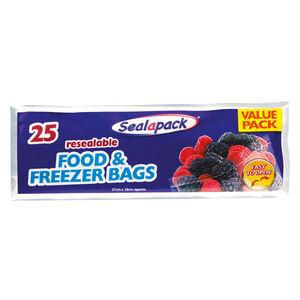 Sealapack Resealable Food & Freezer Bags
