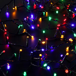 LED Star Bright Compact Lights 500 Multicoloured