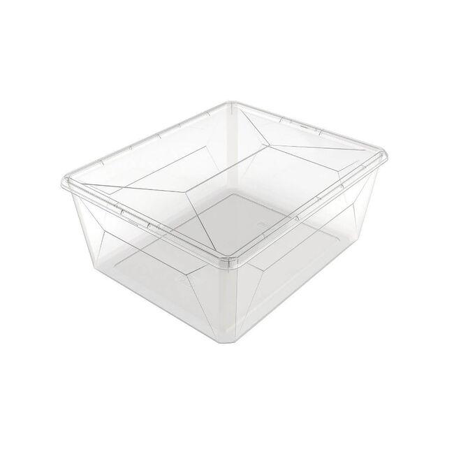 Ezy Storage Karton Sweater Box 17.8L - Grey