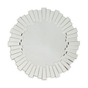 Sunburst Bevel Round Mirror 60cm