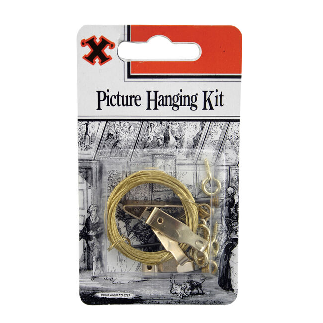 X Picture Hanging Kit