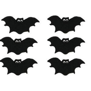 Halloween Bat Handmade Icing Cake Toppers
