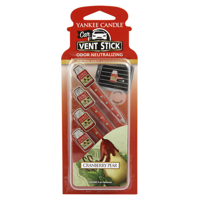 Yankee Candle Cranberry Pear Vent Sticks