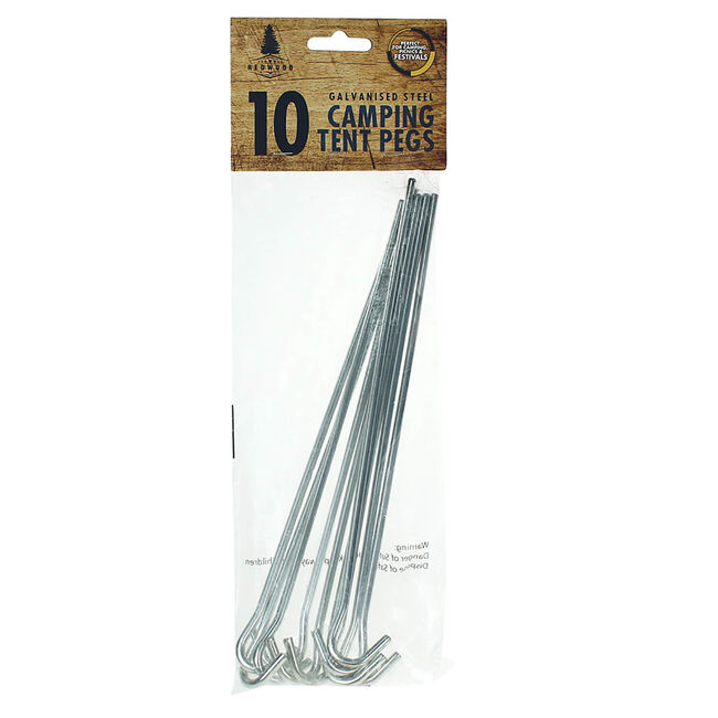 10 Tent Pegs
