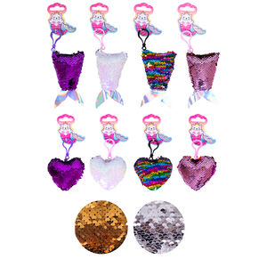 Love Heart/Mermaid Bag Clips