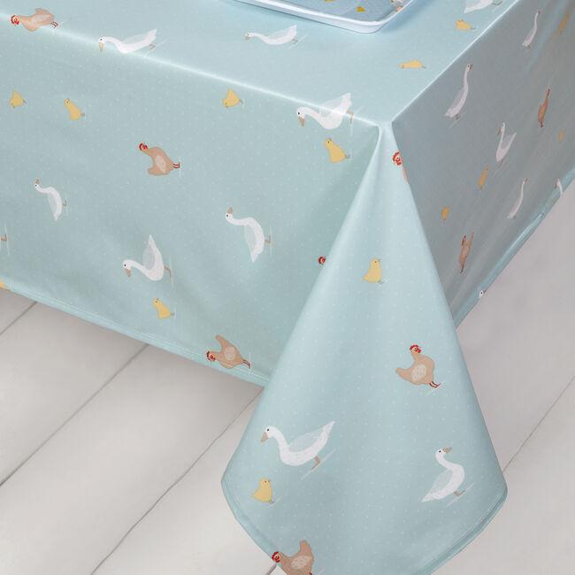 Country Farm PVC Table Cloth 160x230cm