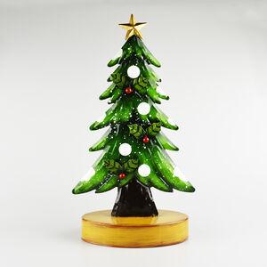 Lightup Metal Christmas Tree with Star