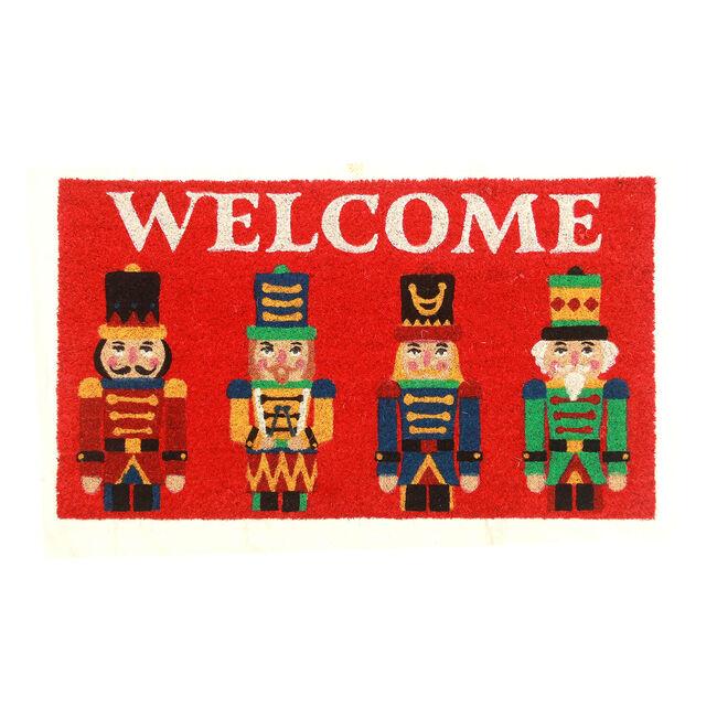 Nutcracker Welcome Door Mat 40 x 70cm