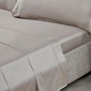 DB FLT/SHT DB Stitch 500 Threadcount Cotton Stone 7A