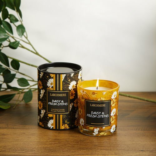 Larchmere Daisy & Fresh Stems Scented Candle