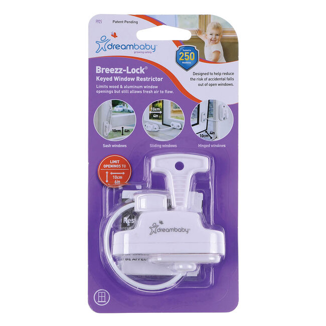 Dreambaby Breezz-Lock Window Restrictor
