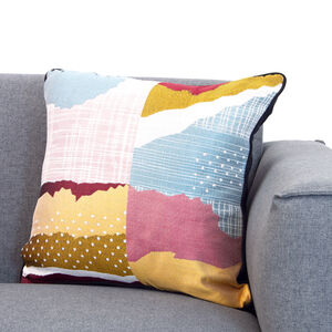 Atlantis Abstrac Cushion 45x45cm -  Multi