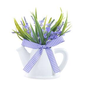 Lavender Arrangement in Ceramic Jug