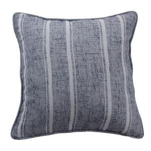 Piper Stripe Grey Cushion 45cm x 45cm