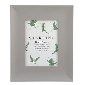 Starling Grey Frame 5x7