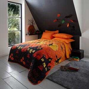 Witching Hour Bedspread 200 x 220cm - Orange