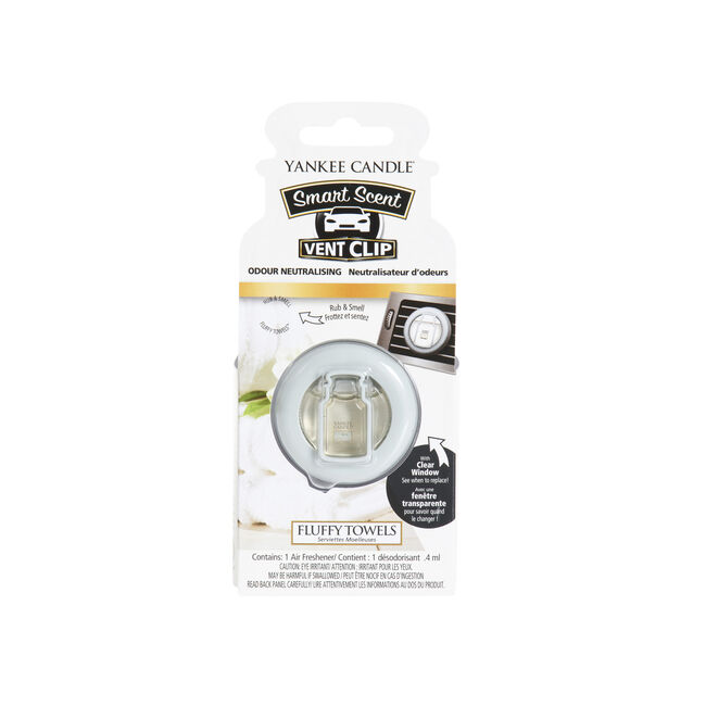 Yankee Candle Smart Scent Fluffy Towels Vent Clip