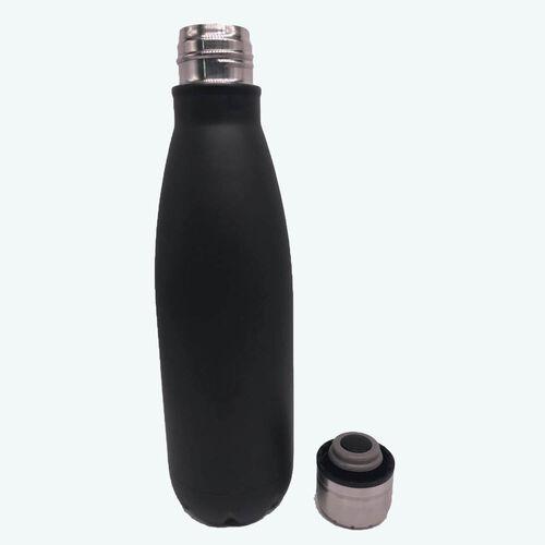 BodyGo Capsule Bottle 480ml - Black