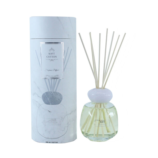 Soft Cotton 200ml Reed Diffuser