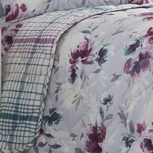 Stella Bedspread 200x220cm - Grey