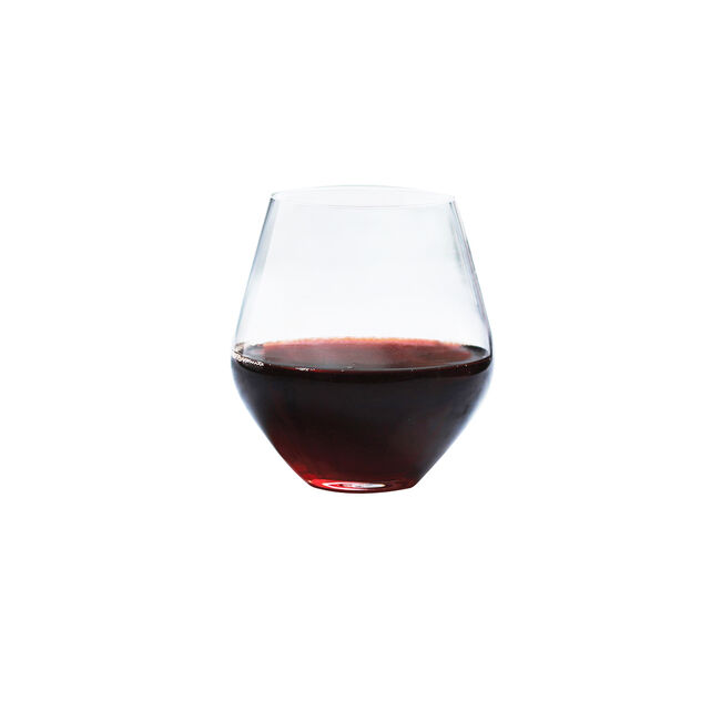 Concerto Stemless Red Wine Glasses 4 Pack
