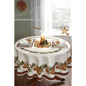 Bells Round Table Cloth 178cm