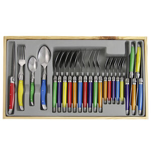 Laguiole Multi Cutlery Set 24 Piece