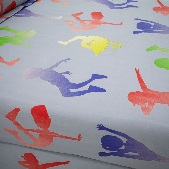 DANCE MOVES Single Fitted Sheet