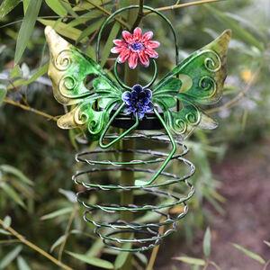 Butterfly Spiral Solar Lantern