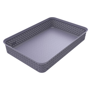 Ezy Mode A4 Storage Tray Stackable Soft Violet
