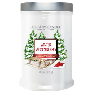 Tuscany Double Wick Candle Winter Wonderland