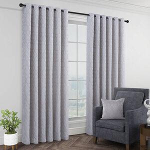 BERGAMO GREY 66x54 Curtain