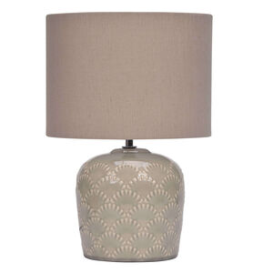 Ceramic Shell Table Lamp