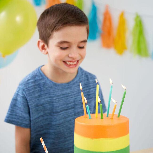 Wilton birthday Candles Tall & Short