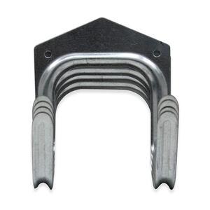 4 Large Galvanised Tool Hooks