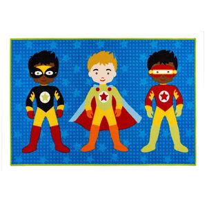Superheroes Children's Floormat 100cm x 150cm