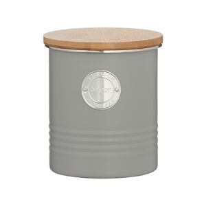 Typhoon Living Sugar Container Grey 1L