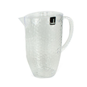 Dimper Pitcher with Lid - Clear