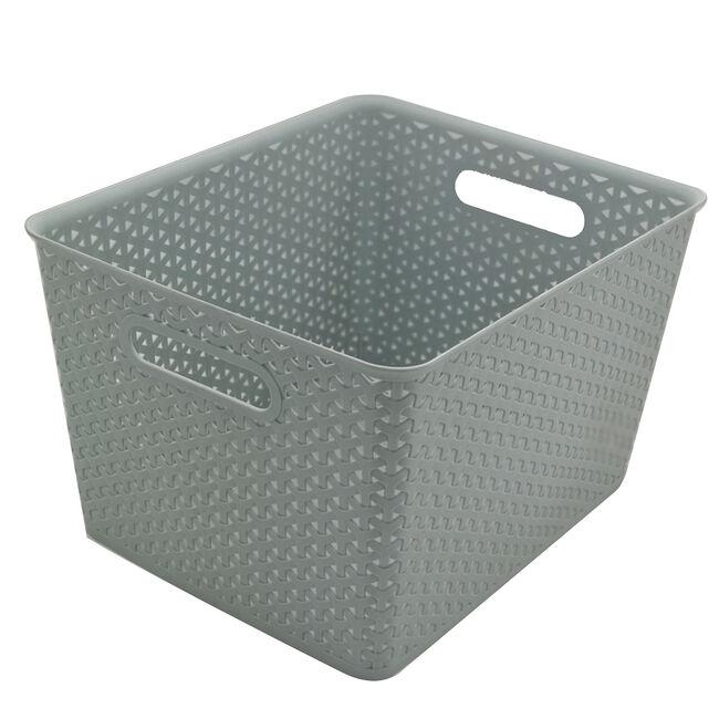 Basket Grey 19L