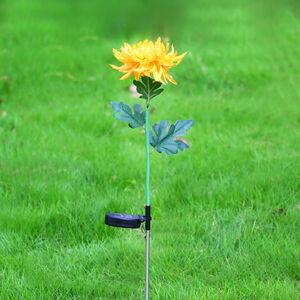 Flower Solar Stake Light