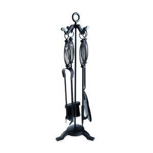 Silverflame Companion Set with Decorative Handle