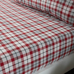 PATCHWORK CHRISTMAS Single Fitted Sheet