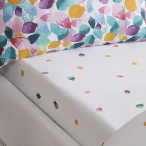 Petals Fitted Sheet