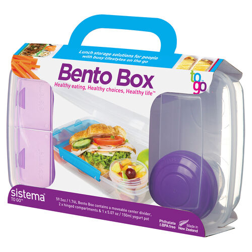 Sistema Bento Box To Go 1.76L