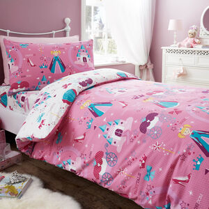 SINGLE DUVET COVER Princess Magic