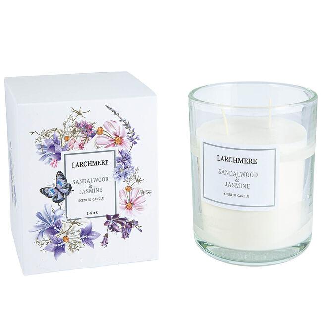 Larchmere Sandalwood & Jasmine Scented Candle