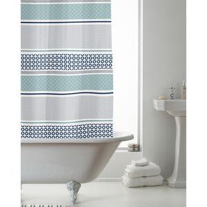 Peva Shower Curtain Moroc Stripe