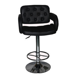 Clarendon Bar Stool Black