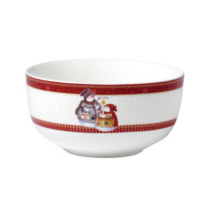Love Christmas Snowmen Bowl