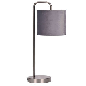Eliza Table Lamp With Grey Shade